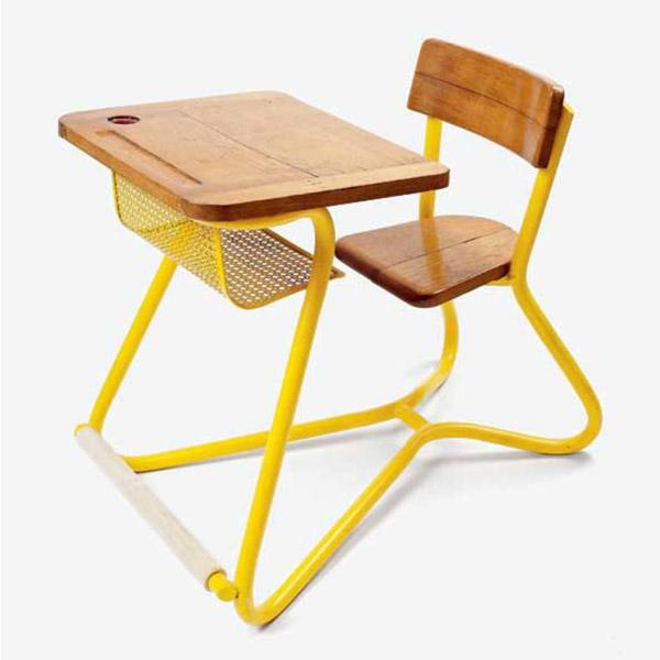 Jacques Hitier School desk | Bureau d'écolier de Jacques Hitier | Desk 1940s