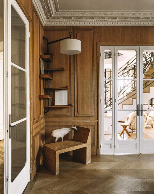 Jacques Hitier corner self | Interior design project